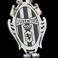 Small Juventus vintage silver pendant 3D Printing 234592