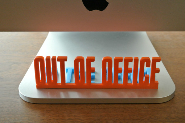 Medium Desk Sign 3D Printing 23460