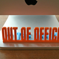 Small Desk Sign 3D Printing 23460