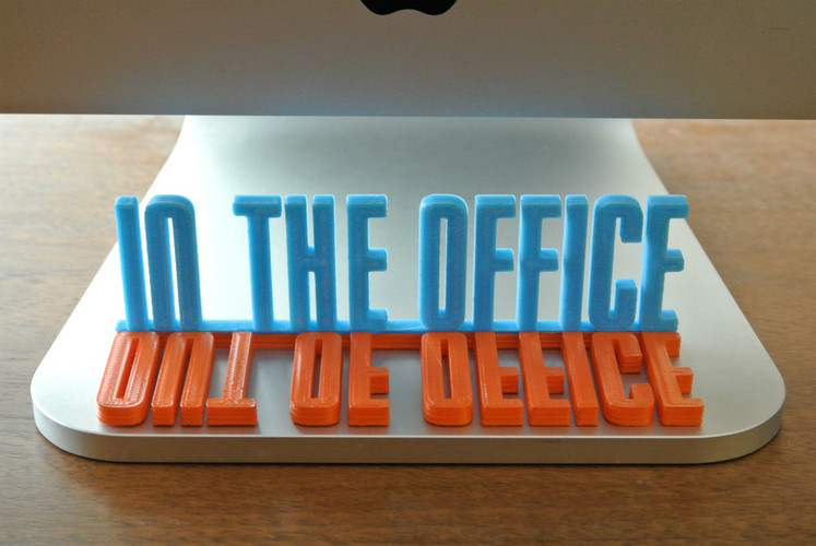 3d Printed Desk Sign By Walltosh  Pinshape. Tariff Signs. Kody Signs Of Stroke. Headache Signs. Foals Signs. Vedic Signs Of Stroke. Glukosa Darah Signs. Redness Signs. Longest Lasting Signs