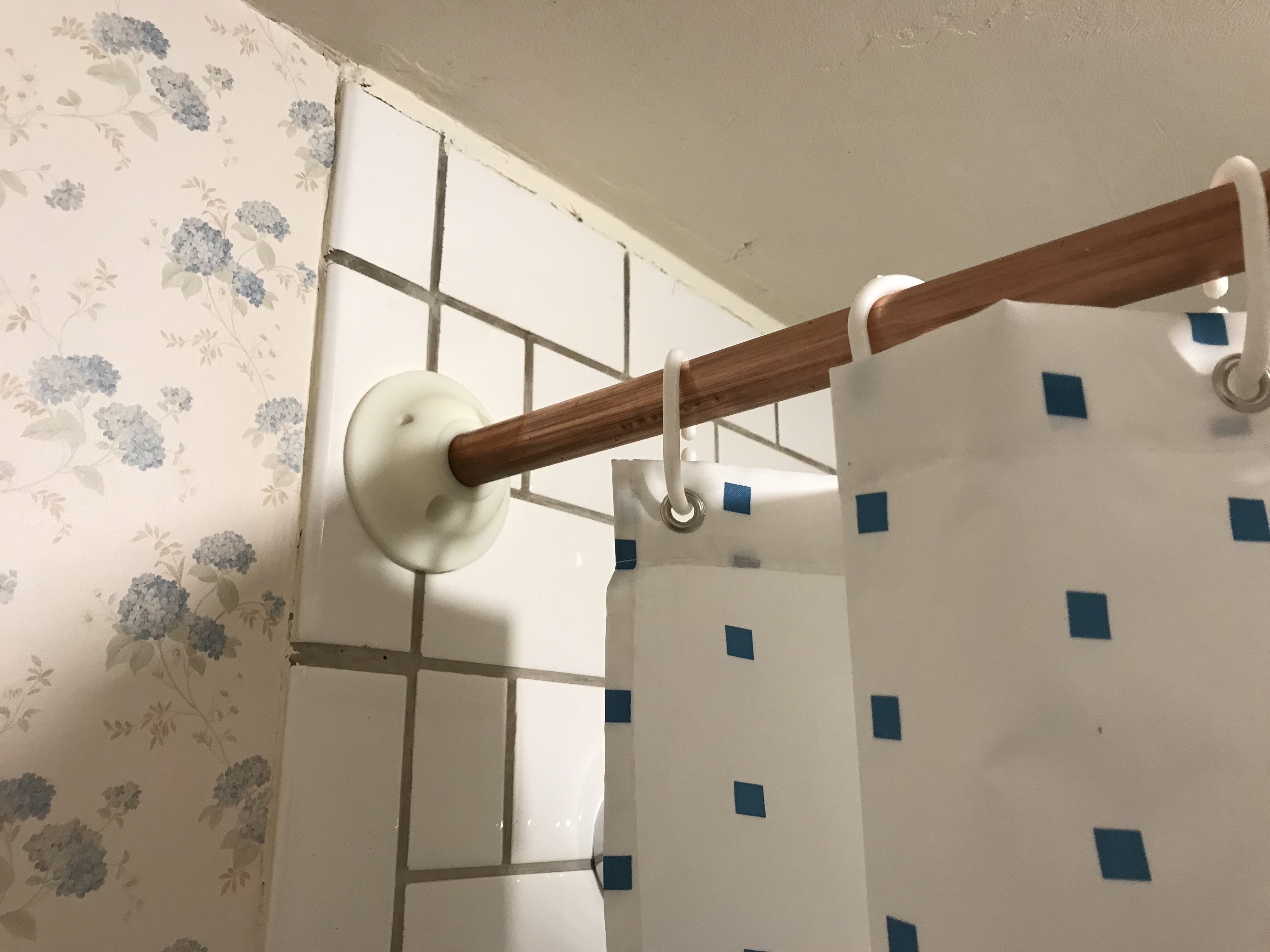3d Printed Shower Curtain Rod Mounting Brackets By Natanj