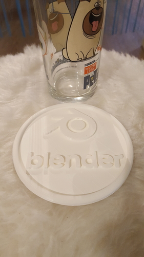 Blender drinkcoaster set 3D Print 234692