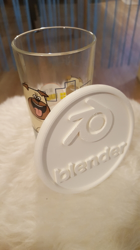 Blender drinkcoaster set 3D Print 234693