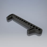 Small Battery holder version 2 for buggy XB2C  3D Printing 234722