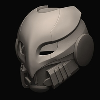 Small ​Celestial Nighthawk exotic helmet For Cosplay​ 3D Printing 234752
