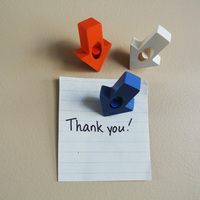 Small Arrow-shaped Push pin 3D Printing 23499