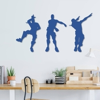 Small Fortnite dance wall decoration 3D Printing 235069