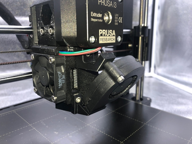 Prusa I3 Mk3 B7 upgrade fan holder mod 3D Print 235081