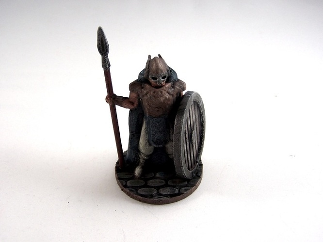 Warden of Midgard 3D Print 2351