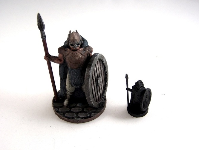 Warden of Midgard 3D Print 2352