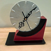 Small Art Deco Mantle Clock 3D Printing 235273