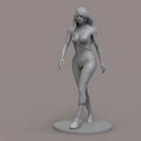 Small Woman Walking 3D Printing 235318