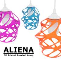 Small Aliena 3D Printing 23543