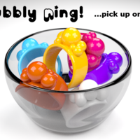 Small Bubbly Ring 3D Printing 23544