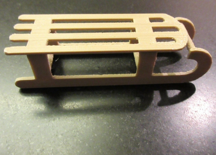 Miniature sledge in 1:12 3D Print 235450
