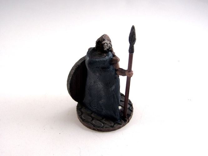 Warden of Midgard 3D Print 2356