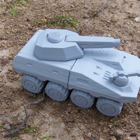 Small Mk.V (Okapi) A.M.V.P. fictional armored vehicle 3D Printing 23565