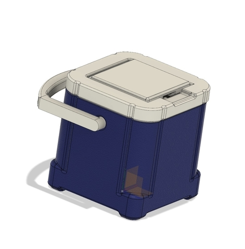 1Tenth Scale IceCube Mini Cooler 3D Print 235664