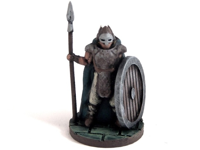 Warden of Midgard 3D Print 2358