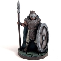 Small Warden of Midgard 3D Printing 2358