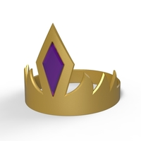 Small Crown of King Ludo 3D Printing 235957