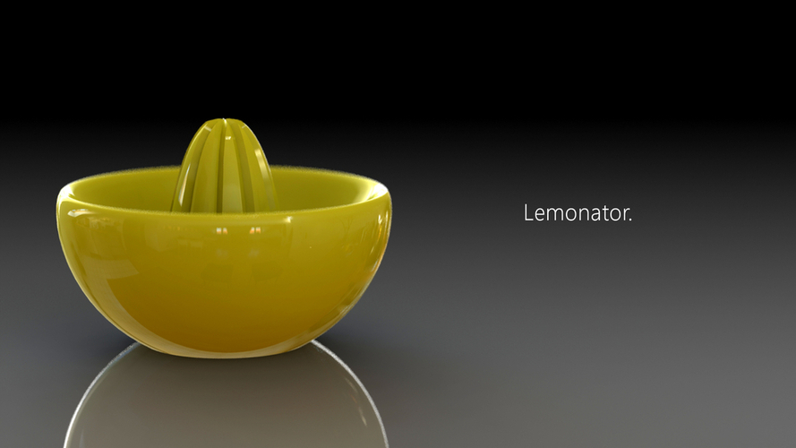 Lemonator! 3D printed juice squeezer of awesomeness 3D Print 23619