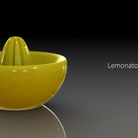 Small Lemonator! 3D printed juice squeezer of awesomeness 3D Printing 23619