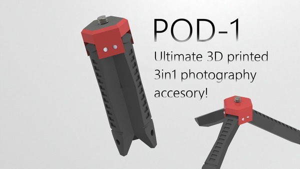 Medium POD-1 the Ultimate 3in1 Photo accesory! 3D Printing 23628