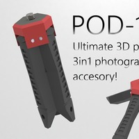 Small POD-1 the Ultimate 3in1 Photo accesory! 3D Printing 23628