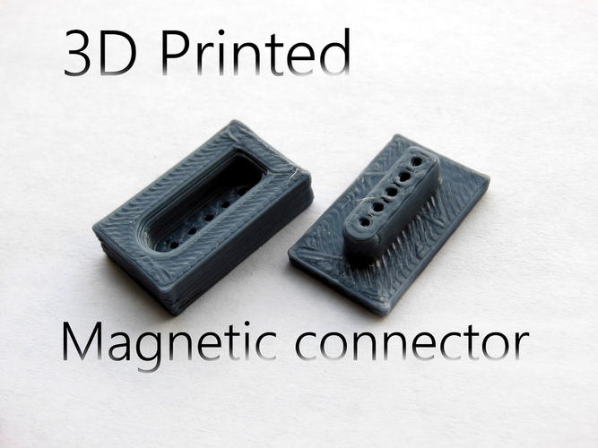 MAgnetic connector 3D Print 23632