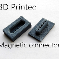 Small MAgnetic connector 3D Printing 23632