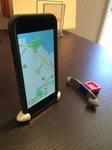 iphone w rhinoshield car holder 3D Print 23634