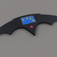 Small Batarang from movie Batman Returns 3D Printing 236359