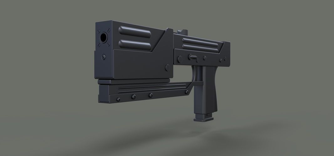 Modified MAC-11 from movie Blade 3D Print 236647