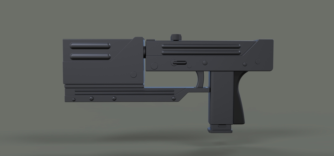 Modified MAC-11 from movie Blade 3D Print 236649