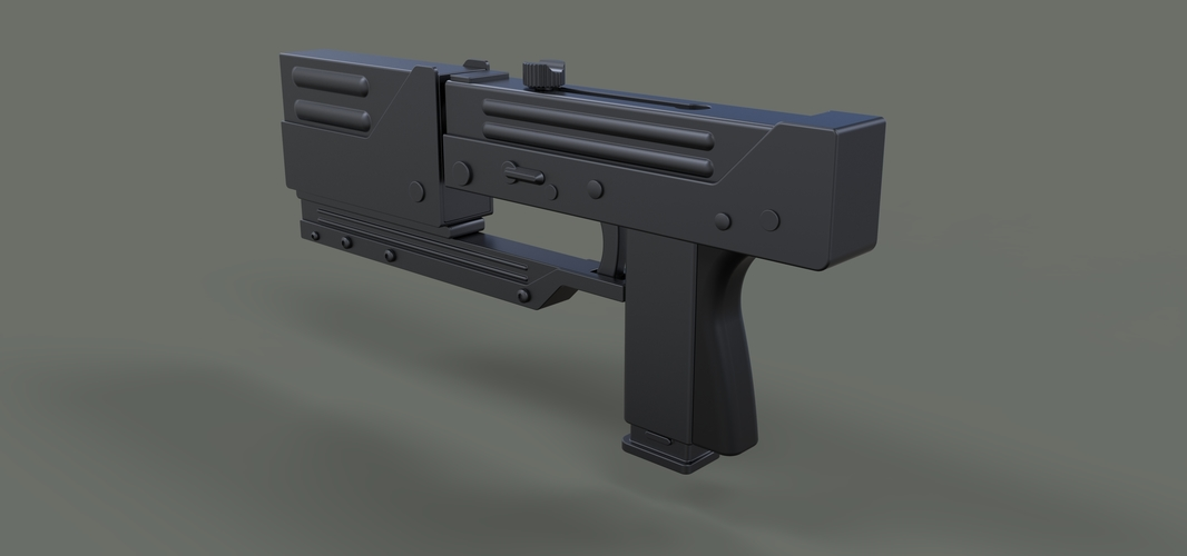 Modified MAC-11 from movie Blade 3D Print 236653