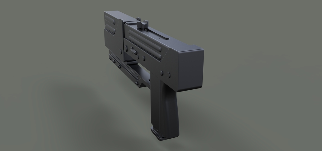 Modified MAC-11 from movie Blade 3D Print 236655