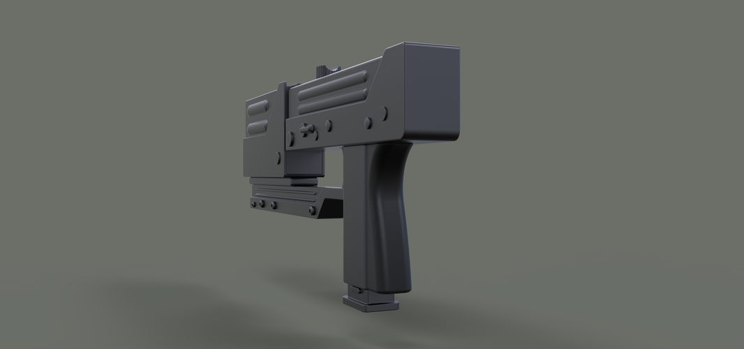 Modified MAC-11 from movie Blade 3D Print 236656