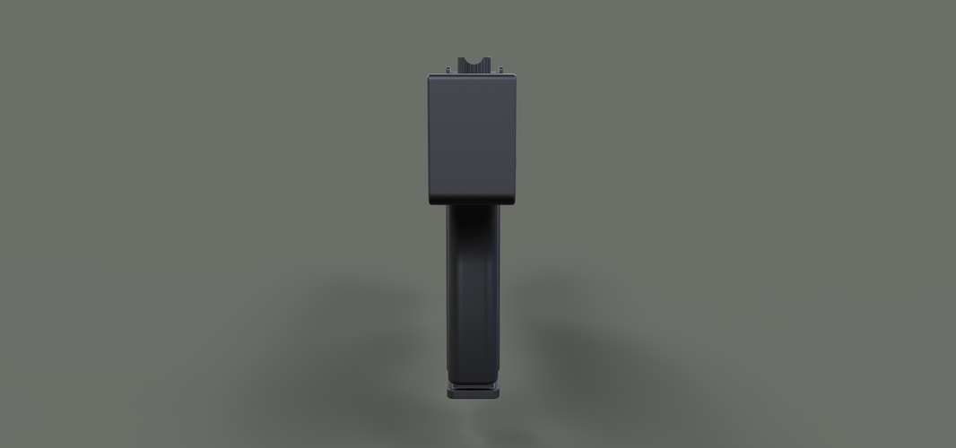 Modified MAC-11 from movie Blade 3D Print 236657