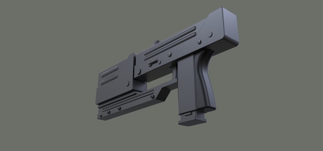 Modified MAC-11 from movie Blade 3D Print 236658