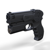 Small Pistol from movie I robot 2004 3D Printing 237221