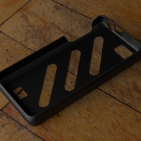 Small Fairphone Case #4: Stripes Cutout 3D Printing 23740