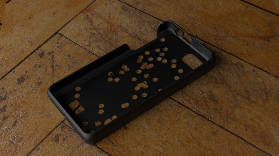 Fairphone Case #3: Random Holes Cutout 3D Print 23742