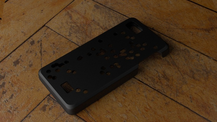 Fairphone Case #3: Random Holes Cutout 3D Print 23743