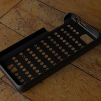 Small Fairphone Case #2: Grid Holes Cutout 3D Printing 23744
