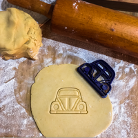 Small Volkswagen Beetle cookie cutter 3D Printing 237739