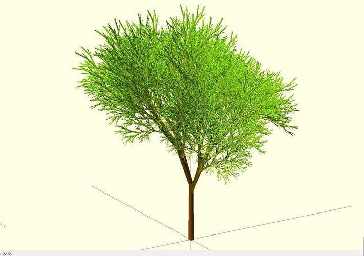 Truly recursive and random Tree (Not just pseudo recursive) 3D Print 23774