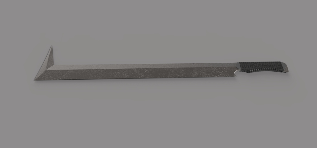 Sword of Uruk Hai from movie Lord of the rings 3D Print 237827