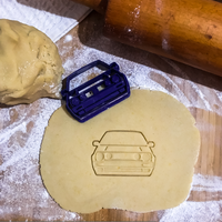 Small Volkswagen Golf Mk2 cookie cutter 3D Printing 237835