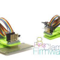 Small Clamp for firmware controllers 8 pins 3D Printing 238117